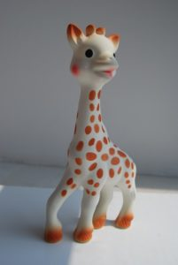 mordedores infantiles jirafa sophie