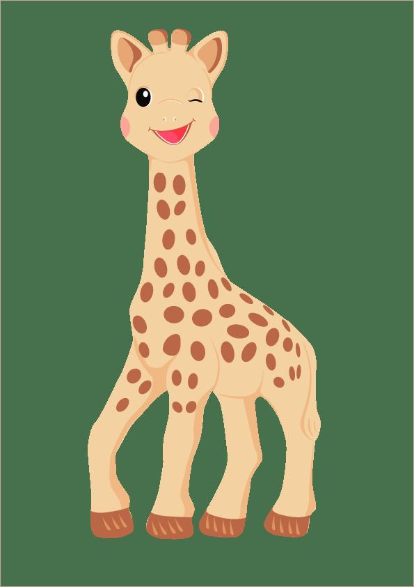 Sophie, la jirafa
